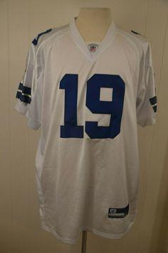 7606ea5c0 Vintage Authentic Dallas Cowboys Miles Austin  19 Reebok NFL Jersey Size 48