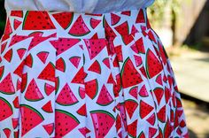 Sew Over It Lizzie Skirt - Patricia Grundy Skirt Sewing, Skirt Patterns Sewing, Sew Over It, Easy Projects, Getting Things Done, Pleated Skirt, Watermelon, Quilts, Blanket