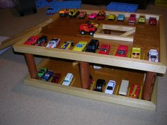 hotwheels garage! can't wait till I get the stuff to make this for Andy!