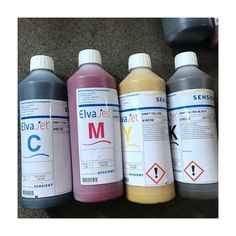 Sensient sublimation ink for textile printing
