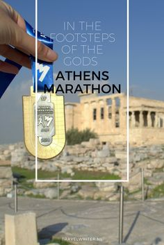 Bucket list? Done! I signed up for the marathon. A choice that I have often regretted, especially during strenuous workouts. And yet here I am, in the stadium of the ancient Greek city of Marathon. In the footsteps of the gods: Athens Marathon!