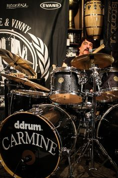 Carmine Appice #ddrum #drum #drummers #DrumWarstheClinic #music #rock