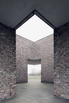 Museum Island Hombroich- Neuss, Germany, created by Erwin Heerich. (wiki)