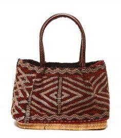 Shop Latitude Bazaar Zig-Zag Kilim Bag