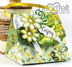 Heartfelt Creations | Daisy Treat Bag