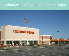 A photographer's guide to Home Depot