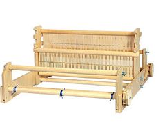 A simple and reliable rigid heddle loom. Two heddles allow you to create linen and twill fabrics. Included is everything to start to weave. Tapestry Loom, Inkle Weaving, Thick Yarn, Rug Hooking, Porch Swing, Yarn Crafts, Outdoor Furniture, Outdoor Decor, Crafts To Make
