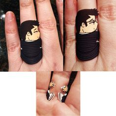 This Ring Makes It Look Like Doctor Who is Hugging Your Finger #anime #fashion trendhunter.com
