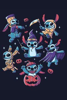 Disney Halloween, Halloween Design, Halloween Gifts, Spooky Halloween, Funny Halloween, Happy Halloween, Scary Alien, Scary Art, Spooky Scary