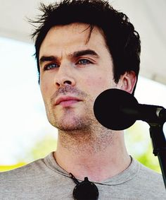 Ian Somerhalder at Rally For Our Future in Asheville