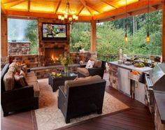 Perfect backyard living!