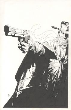 Splash Page Comic Art :: For Sale Artwork :: The Shadow by artist Tim Bradstreet