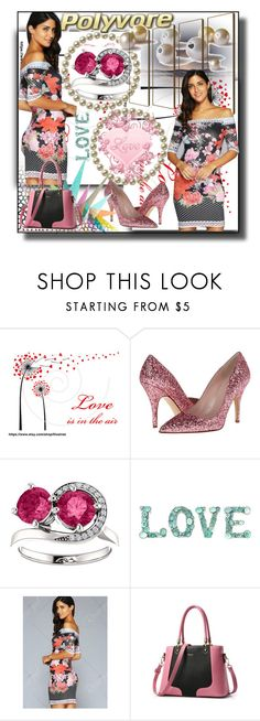 """""""set 59"""" by fahirade ❤ liked on Polyvore featuring Kate Spade and Krystal"""