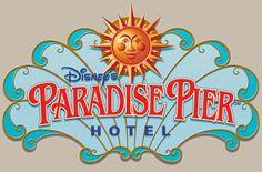 Paradise Pier Logo