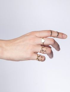Pixie Market - delicate stacking rings