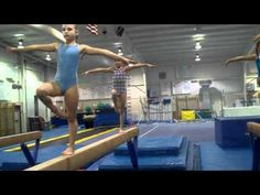 Beam - Leg and arm tightening Gymnastics Lessons, Gymnastics Academy, Gymnastics Tricks, Kids Gymnastics, Gymnastics Coaching, Gymnastics Training, Gymnastics Workout, Percussion, Gymnastics Conditioning