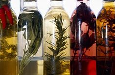 Make your own herbal vinegars