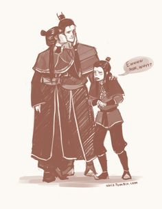 Zuko, Mai & their daughter