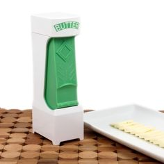 I absolutely hate stick butter, so this is perfect. | One Click Butter Cutter 18.00