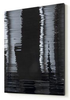 Original art for sale at pabloundpaul.de   Stripes #2, 2013 by Julia Schewalie   50x40 cm, acrylic on wood, 1.000,00 €