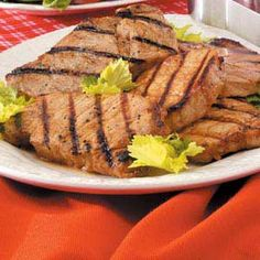 Marinated Pork Chops Recipe Recipe - Key Ingredient