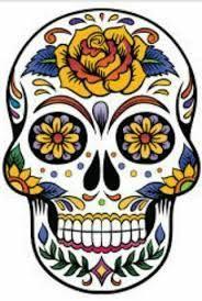 Resultado de imagem para caveira  mexicana para quadro