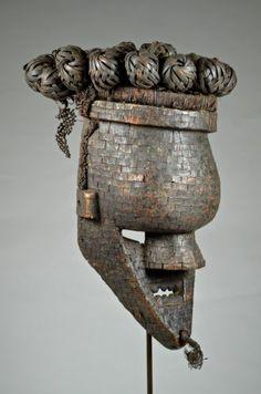 Old Salampasu Mulandwa Mask Artenegro Gallery African Tribal Arts | eBay