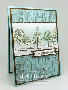 SUO Birthday Tree CASE by stampinandstuff - Cards and Paper Crafts at Splitcoaststampers