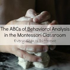 Handy tips for helping children with Autism in a Montessori fashion.