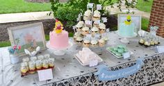 Prince and Princess Twins 1st Birthday Party  | CatchMyParty.com