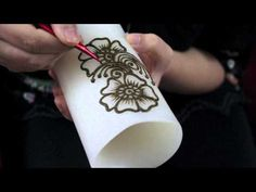 How to do Arabic Henna on a Candle