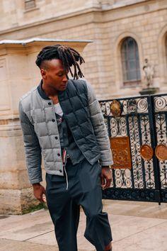 London Fashion Week Mens, Preppy Mens Fashion, Fashion Week 2018, Stylish Mens Outfits, Latest Mens Fashion, Urban Fashion, Paris Fashion, Men Fashion, Winter Fashion