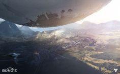 The Beautiful Concept Art Behind Destiny