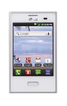 LG Optimus Dynamic. Amazon.com $25 adorable android phone. It comes with triple minutes for the life of the phone. These make great gifts for kids or adults (but the kids really love them)! You can get nice cases for this phone on Ebay for an inexpensive price.