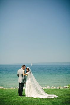 Classic Lake Michigan Wedding | photography by http://www.weber-photography.com/