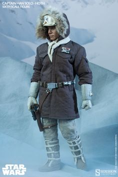 Sixth Scale Figure - Captain Han Solo - Hoth #2134