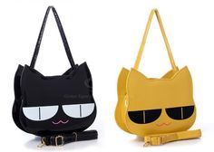 New Arrival Cat and Patent Leather Design Shoulder Bag For Women Baby Style, Leather Design, Fashion Bags, Patent Leather, Cat Lovers, Shoulder Bags, Cats, Casual, Stuff To Buy