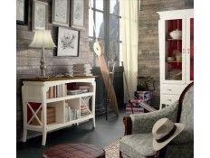 Librero bajo MEDITERRANEO http://www.cuorebello.es/50-muebles-de-entrada