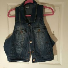 Blue Jean Vest From DOTS This is a trusty vest and I think you will like it! Jackets & Coats Vests