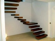 floating stairs!