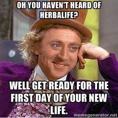 Herbalife - get ready for the first day of your new life