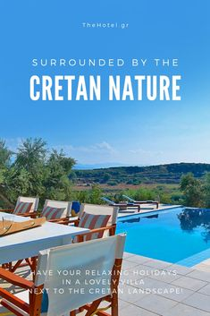 Enjoy the Cretan nature in a lovely Villa!  #crete #greece #chania #summer #vacations #holiday #travel #sea #sun #sand #nature #landscape #island #TheHotelgr #rent #villas #apartments #nature #view #holidays #travelling #instatravel #pool #pinterest #luxury #villa #apartment #urlaub #ferien #reisen #meerblick #aussicht #sommer #thehotelgr