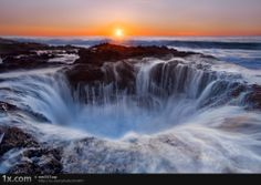 Thor's well, Oregon coast. Lived in Oregon and never knew this was around.