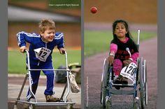 Disabled children - sports