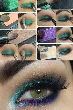 ariel makeup  simple eye makeup mermaid makeup eye makeup