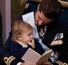 duchessofostergotlands: An adorable moment between... - Royal Rumormonger