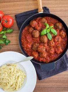 italienska köttbullar-5 Pasta, Penne, Minced Meat Recipe, Mince Meat, Recipes From Heaven, Meat Recipes, Tapas, Good Food, Food And Drink