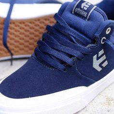 Etnies Shoes, Etnies Marana Vulc MT Blue/White