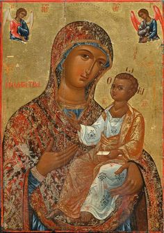 Hagiography, Photo, Art Images, Photo Wall, Image, Painting, Blessed Virgin Mary, Orthodox Christian Icons, Art