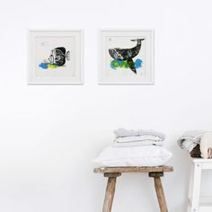 Looking for original art to create a stunning ocean gallery wall for your kids room or nursery? Then our printmaking art is just for you. We created different original art prints that mix and match perfectly. Play with frames and matboards to create your unique style. Click through to see all our handmade artwork. #oceanthemekidsroom #beachnurserytheme #gallerywallnursery #tropicalfishnursery #coastalnurserywallart Baby Room Art, Kids Room Wall Art, Baby Room Decor, Nursery Wall Art, Bedroom Wall, Beach Theme Nursery, White Nursery, Fashion Room, Printmaking